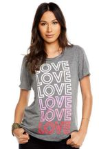 Chaser Mommy Love Tee Gray (XS 0 & S 2/4)