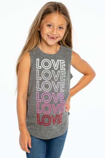 Chaser Muscle Love Tee (Size 4)