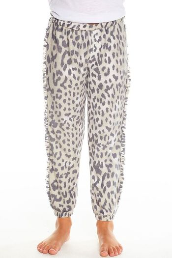 Chaser Slouchy Leopard Joggers