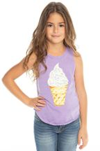 Chaser Sprinkles Ice Cream Tank (3,4,5,7,8)