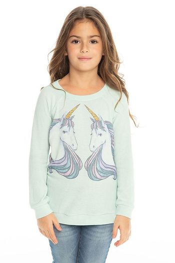Chaser Unicorn Dreams Knit Pullover