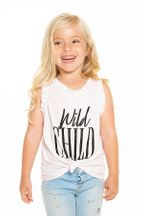 Chaser Wild Child Ruffle Tank (3,12,14)