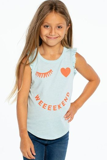 Chaser Wink Weekend Muscle Tee