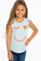 Chaser Wink Weekend Muscle Tee (4 & 8)