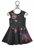 Cosmic Cutie Skater Dress (3T,4T,10,12,14) Alternate View #2