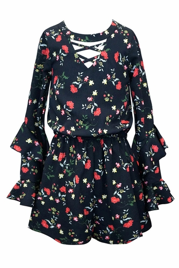 Crazy About Fashion Tween  Romper (Size 7)