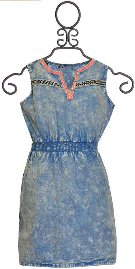 Dex Retro Acid Wash Dress Get The Design Here