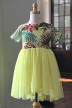 Doe A Dear Tropical Tulle Dress