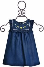 Dreaming of Denim Baby Dress