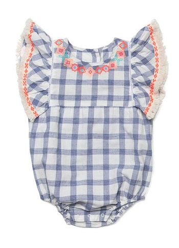Egg Remy Romper (Size 24Mos)