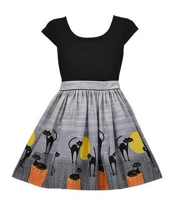 Five Loaves Two Fish Halloween Dress Maddie SOLD OUT