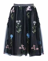 Flowers Are The Seeds of Today Maxi Skirt (4 & 14)