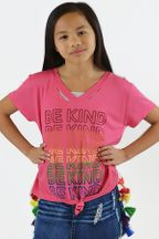 Flowers by Zoe Be Kind Tee for Girls (2T,4T,4)