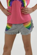 Flowers by Zoe Double Heart Girls Shorts