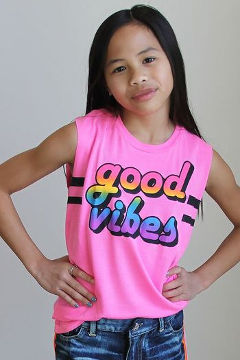 Flowers By Zoe Good Vibes Tank
