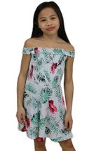 Flowers By Zoe Hawaiian Dress with Straps (2T,3T,4T,4,5,6X)
