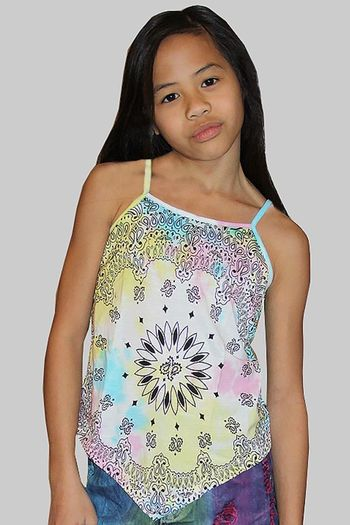 Flowers by Zoe Tie Dye Bandanna Cami  SOLD OUT