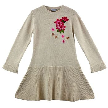Flowers Never Fade Sweater Dress
