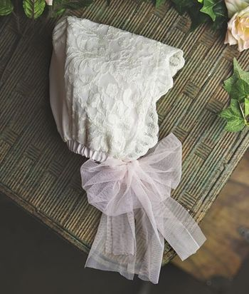 Frilly Frocks Elouise Bonnet SOLD OUT
