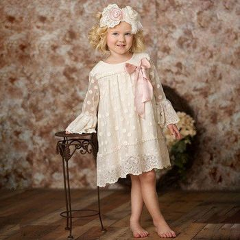 Frilly Frocks Evelyn Dress Vintage Inspired (12Mos & 3T)