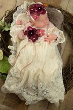 Frilly Frocks Heirloom Gown - PREORDER