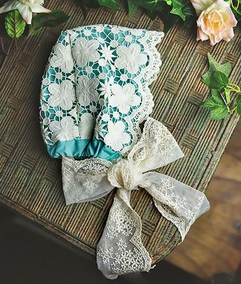 Frilly Frocks Nora Heirloom Bonnet