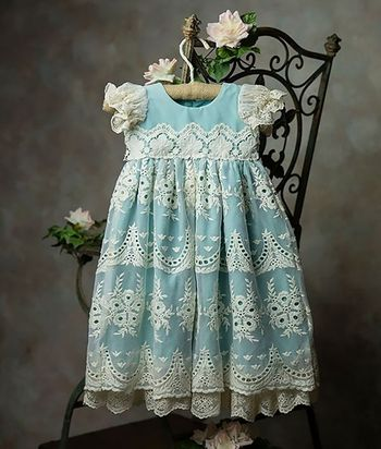 Frilly Frocks Nora Heirloom Gown (Size 0-3Mos)