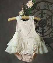 Frilly Frocks Prissy Grace  Sunsuit (18Mos & 3T)