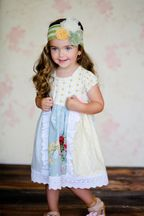 Giggle Moon Garden of Eden Pixie Dress (9Mos,12Mos,18Mos,24Mos,2T,3T)