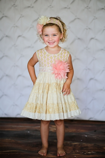 Giggle Moon Party Dress Fruits of the Spirit (Size 3Mos)