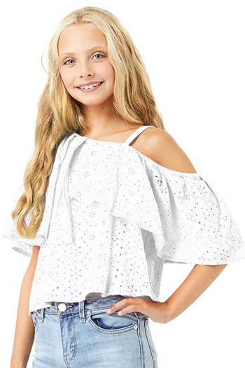 Habitual Girl Asymmetrical Top for Tweens SOLD OUT
