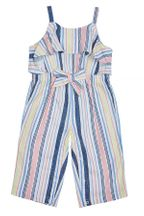 Habitual Girl Stripe Ruffle Jumpsuit (12Mos to 3T)