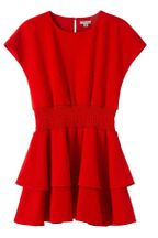 Habitual Red Dress in Crepe (Sizes 7 to 14)