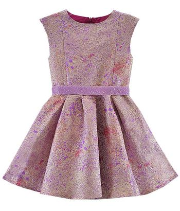 Halabaloo Galaxy Party Dress in Pink (7,8,10)