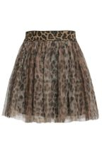 Hannah Banana Animal Print Tutu Skirt for Tweens (Size 12)