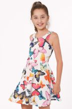 Hannah Banana Butterfly Summer Skater Dress