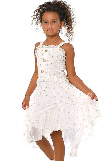 Hannah Banana Daisy Sun Dress - NOT AVAILABLE
