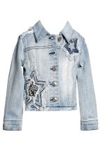 Hannah Banana Denim Jacket Star Trim (4,5,6,7,8)