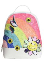 Hannah Banana Glitter Rainbow Backpack