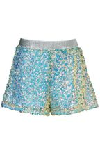 Hannah Banana Green Sequin Shorts Fashion (4T,4,5,6, 6X,7,8)