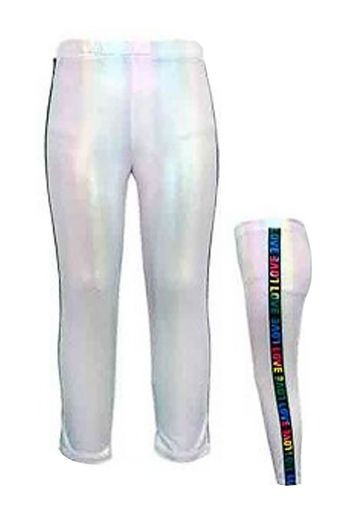 Hannah Banana Holographic Love Legging (12 & 14)