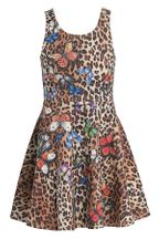 Hannah Banana Leopard Butterfly Dress Tween (7,8,10)