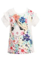 Hannah Banana Pop Art Girl Tee (2T & 5)