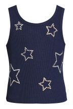 Hannah Banana Tank Top with Rhinestone Star (Sizes 2T to 8)