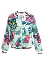 Hannah Banana Tropical Bomber Jacket