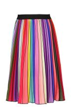 Hannah Banana Tween Pleated Rainbow Midi Skirt (Size 12)