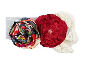 Haute Baby Autumn Blooms Headband