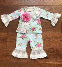 Haute Baby Bloomsbury Criss Cross Set