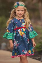 Haute Baby Fall Fantasy Boho Dress (Size 2T to 10)
