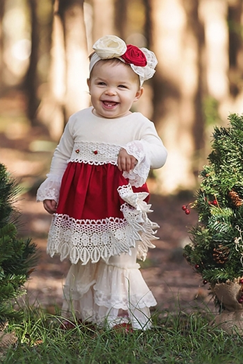 Haute Baby Holiday Infant And Toddler Dress (0/3Mos,2T,4T)